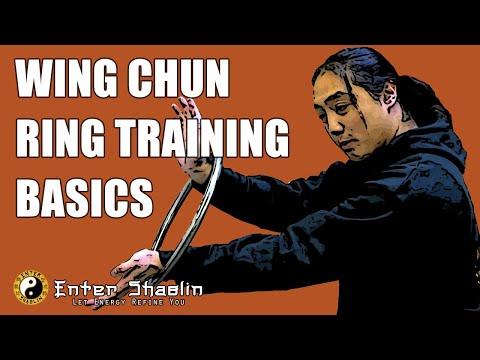 Wing Chun Ring Training Basics | Rattan Ring | Steel Ring | Kung Fu Training