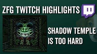 Shadow Temple Is Too Hard (OoT Randomizer) - ZFG Twitch Highlights