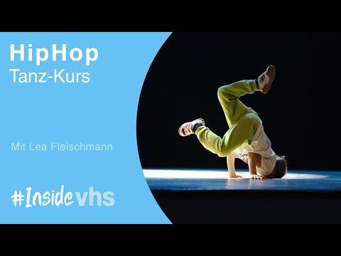 #insidevhs - HipHop Tanz-Kurs Mit Lea Fleischmann