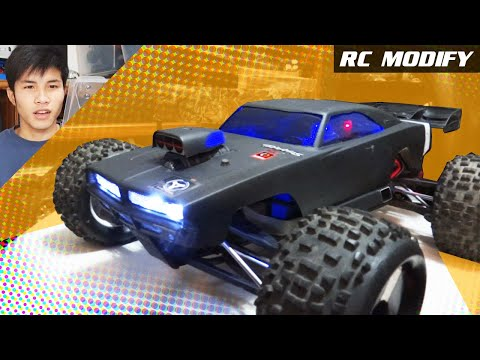 RC Modify 2 | HPI Dodge Charger Body on Traxxas E-REVO