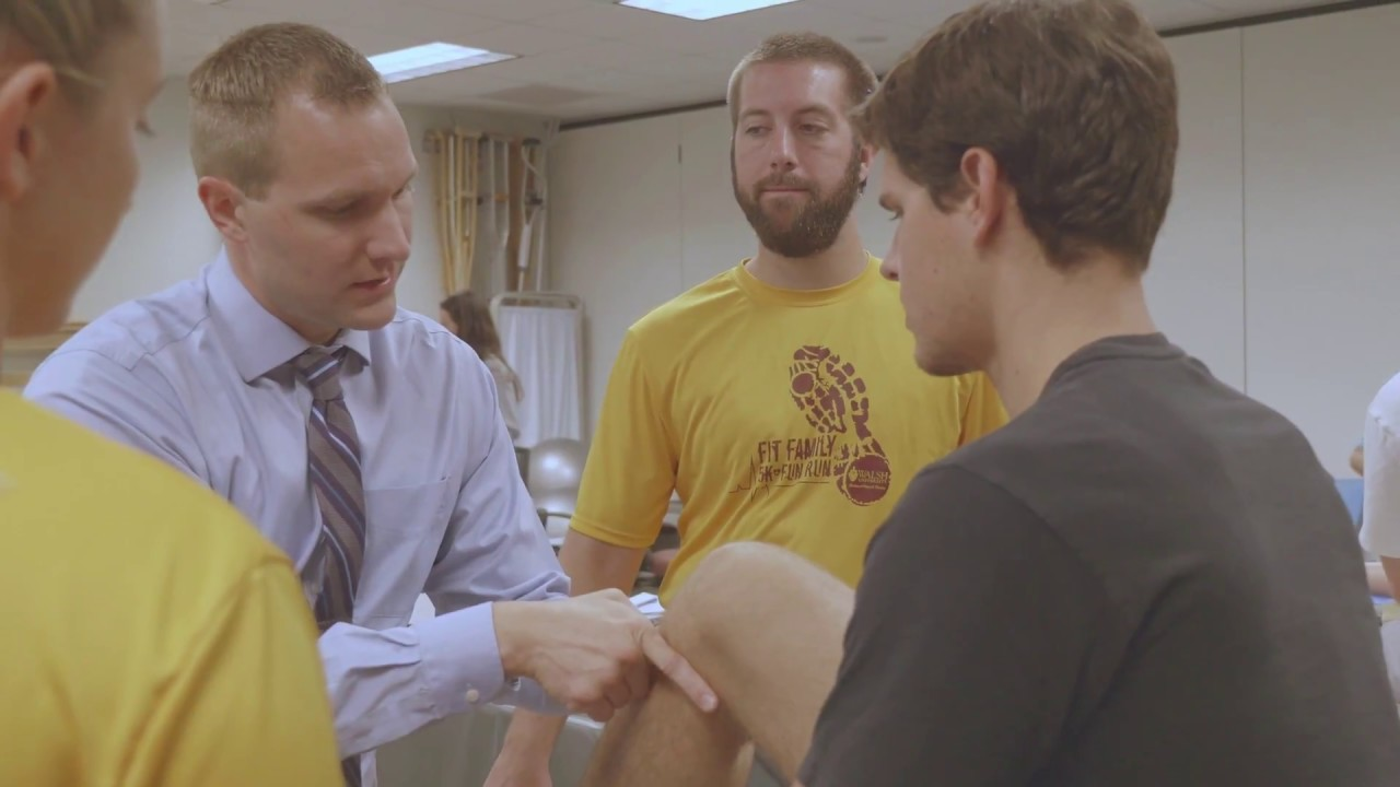 Degree doctoral physical therapy - Walsh University Doctorate Of Physical Therapy Program