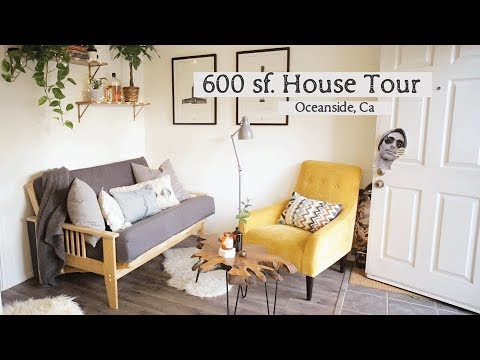 600 sf Beach House Tour - Oceanside, CA