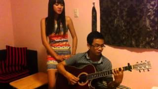 Với em là mãi mãi  Hương Tràm]   Guitar acoustic cover   Tân Bo & Phương Liên   YouTube