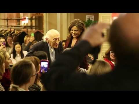 Rachael Ray Meets The Oldest Foodie, 104, In The World  At The Hudson Union Society