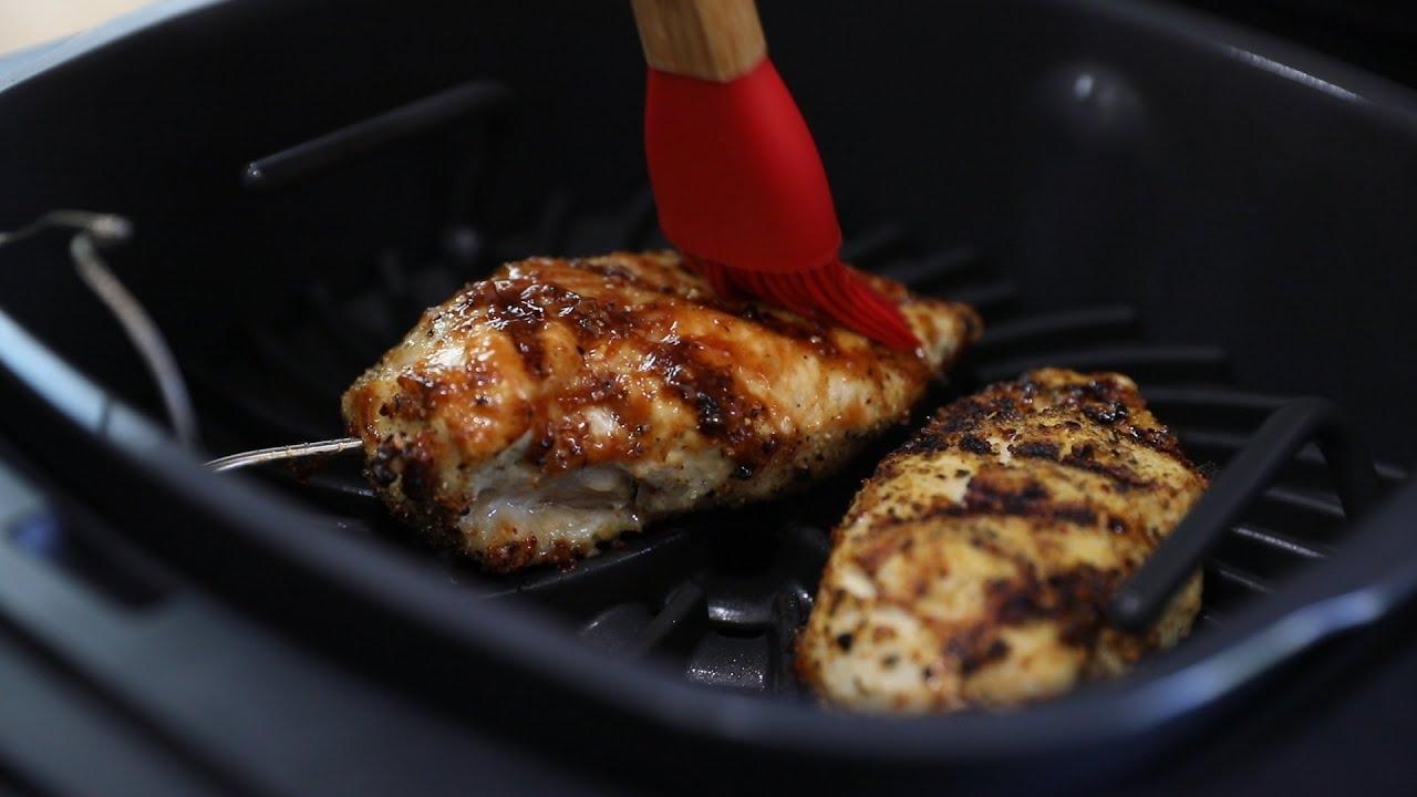 Ninja Foodi Grill Bbq Chicken Breasts Youtube