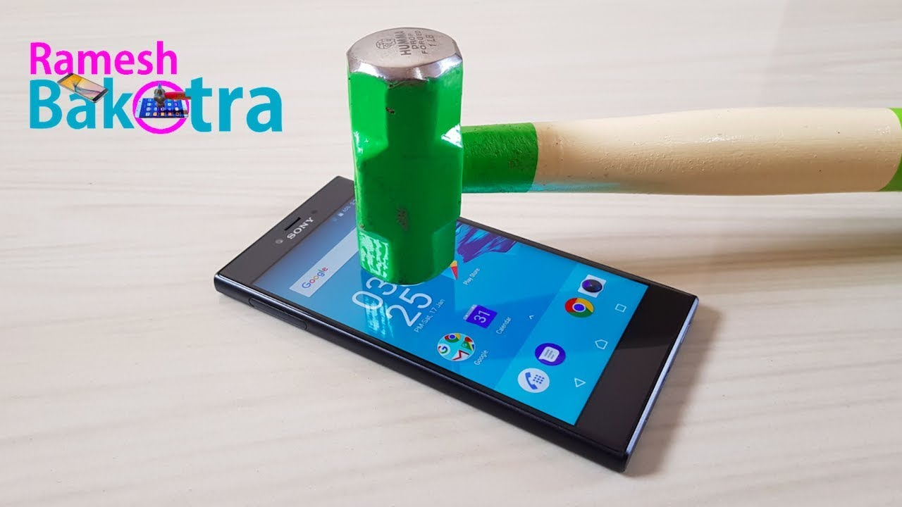 new concept fc3bc 2f75a Sony Xperia R1 Plus Display Scratch Test