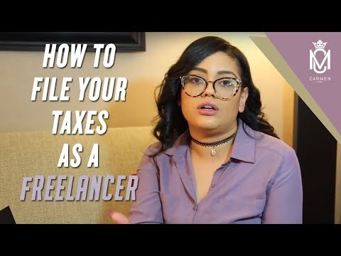 How To File Your Taxes As A Freelancer