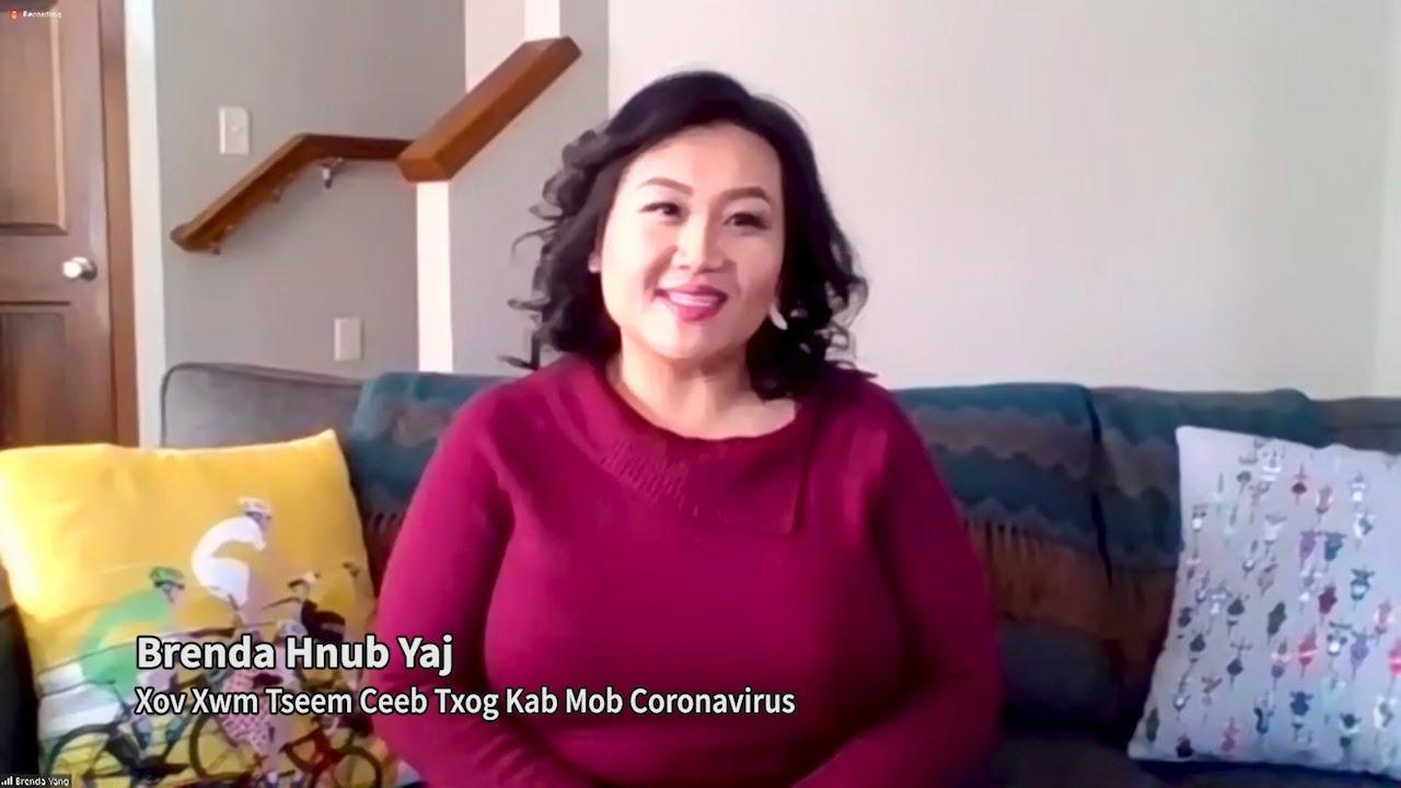Xov Xwm Tseem Ceeb Txog Kab Mob Coronavirus (Important Message About Coronavirus). Brenda Hnub Yaj