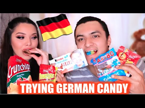 Mexicans Try German Candy!