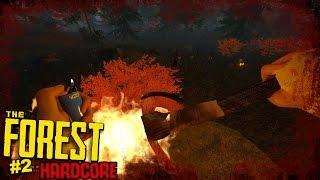 MÁR A MÁSODIK NAP ENNYIEN VANNAK?!   The Forest HARDCORE! #2