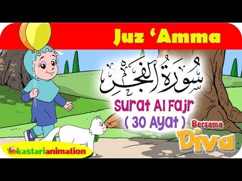 QS Al Fajr | Mengaji Juz Amma bersama Diva | Kastari Animation Official