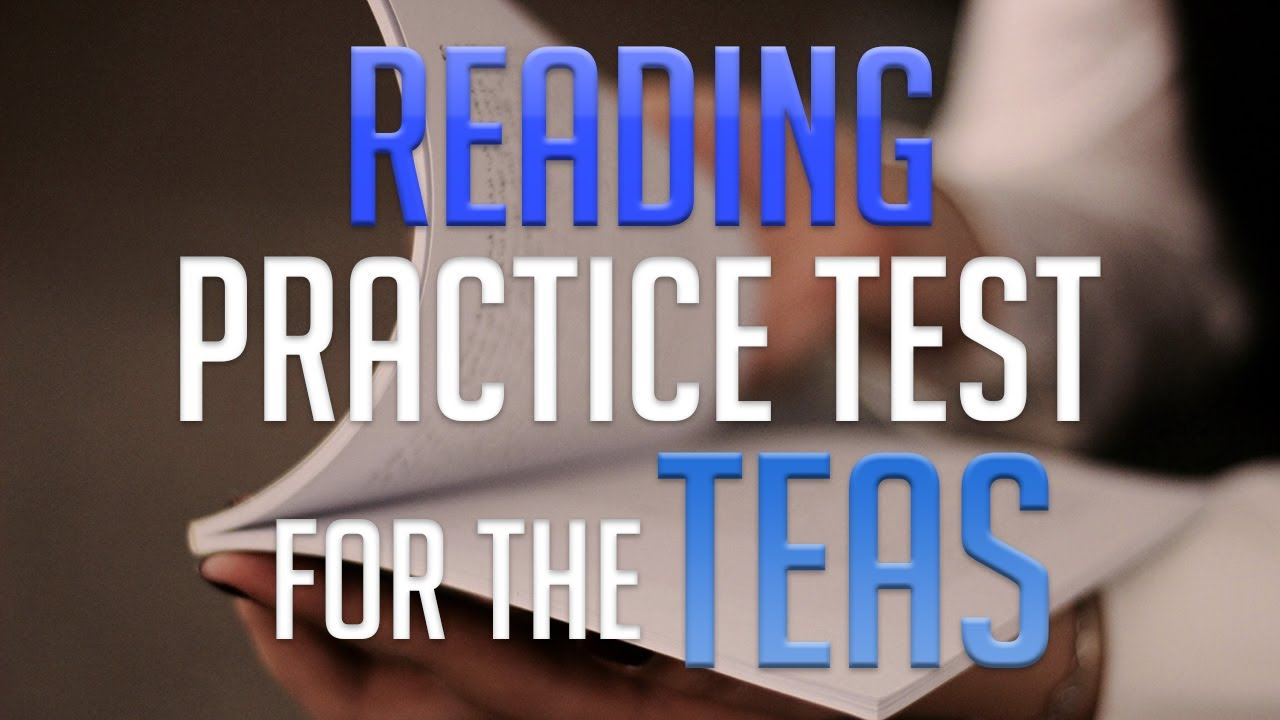 Reading Practice Test for the TEAS