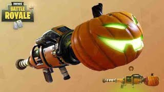 Fortnite Battle Royale Getting Kill With Pumpkin RPG (Halloween DLC)
