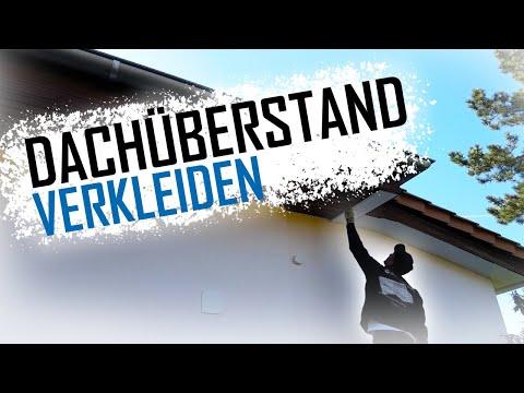 Sehr Dachdecker / Dachüberstand verkleiden - YouTube XM65