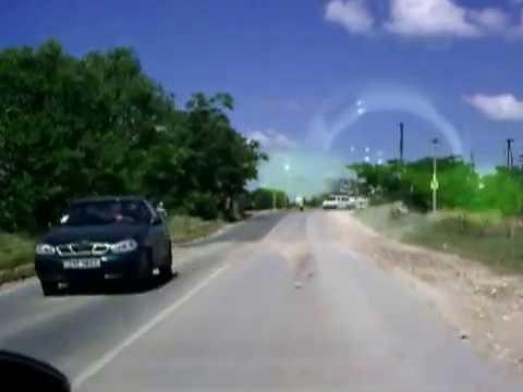Видеозарисовка Дорога от 35-й батареи до Камышей Севастополь.