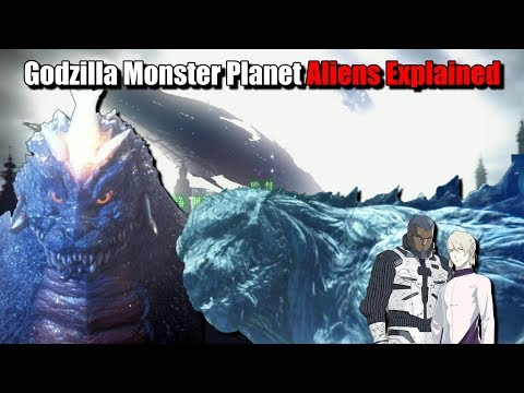 Exif and Bilusaludo Explained - Godzilla Planet Of The Monsters
