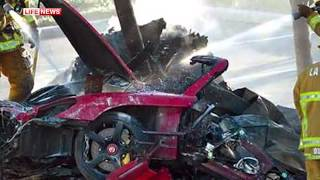 Звезда фильма 'Форсаж' Пол Уокер погиб в аварии под Лос Анджелесом