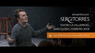 """SERGI TORRES - TEATRO VILLARROEL """"Las diferencias son anécdotas"""" - Febrero 2018"""
