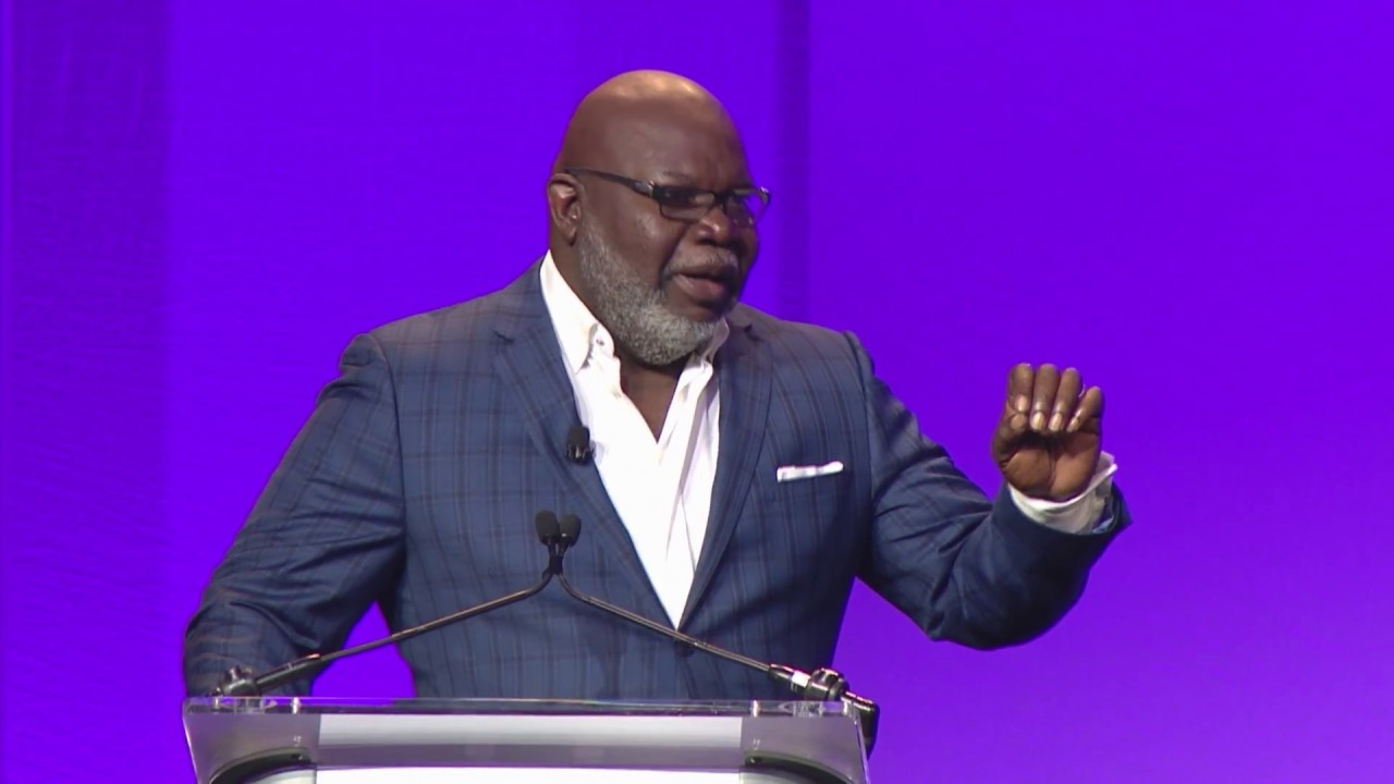 Bishop T D  Jakes' Powerful Advice for Leaders: 'Learn From the Lows How to  Handle the Highs'