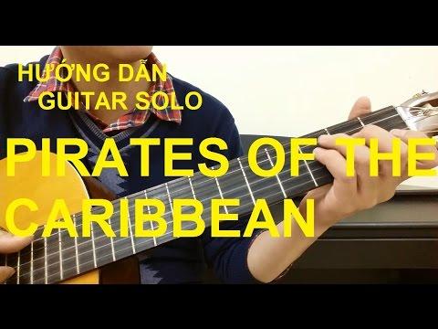 Pirates Of The Caribbean | Guitar solo | Hướng dẫn | Thành Toe