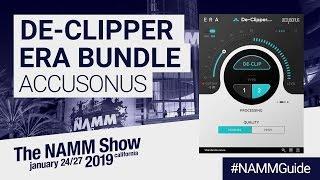 Accusonus New De-Clipper Module | NAMM Show 2019