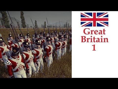 Napoleon Total War Darthmod Lets Play Great Britain #1