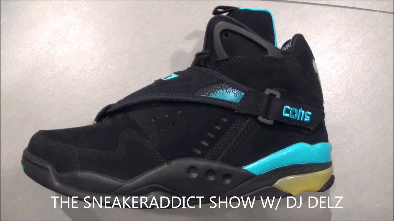 f192dc18f4d0d7 Converse Aerojam Larry Johnson React Retro Sneaker Review With  DjDelz   HotOrNot