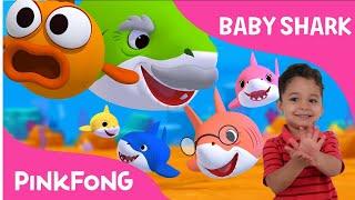 BABY SHARK  DANCE CHALLENGE - PINKFONG Sing and Dance Animal Song