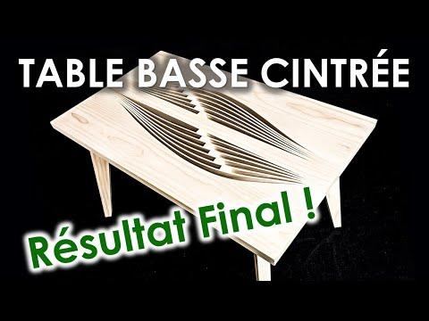 UNE TABLE BASSE ULTRA ORIGINALE!! Partie 3 | RÉSULTAT FINAL | Astuces Design