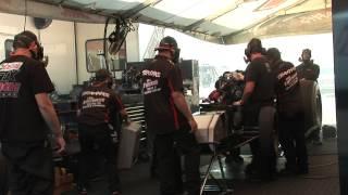 John Force Racing Tearing Down Rebuilding Engine