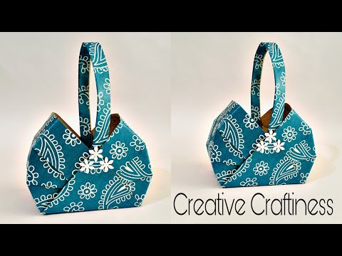 Easy Paper Basket DIY | Gift Basket | Chocolate Box | Paper Box