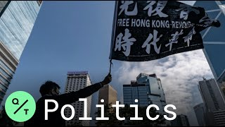 Hong Kong Advertising Workers Strike to Support Protesters