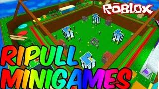 Roblox - DIVERSÃO COM MINIGAMES (Ripull Minigames)