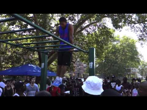 Pull Up Park Jam's Muscle Up Competition 2015