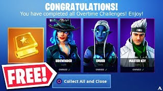 New OVERTIME CHALLENGES Give You FREE SKINS on Fortnite...