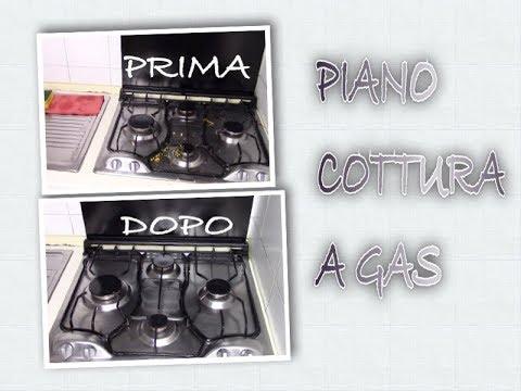 PIANO COTTURA A GAS | pulizia dettagliata | Fly Lady Italia