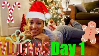 What I Eat In A Day | VLOGMAS DAY 1