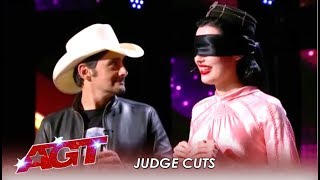 The Sentimentalists: Mind-Reading Duo Has Brad Paisley Asking HOW?! | America's Got Talent 2019