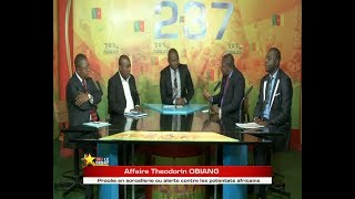 237 Le Debat DU 12 07 2017 -  Affaire theodorin OBIANG