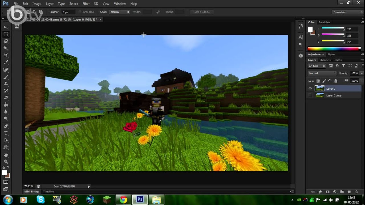 Minecraft tutorial 08 deutsch hd aus screenshots tolle hd wallpaper erstellen youtube - Wallpaper erstellen ...