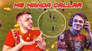 ME MANDA CALLAR UN PRO PLAYER DE FIFA