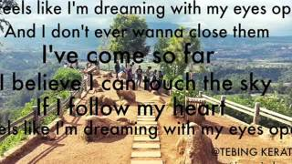 SYDNEY HAIK- DREAMING WITH MY EYES OPEN LYRICS