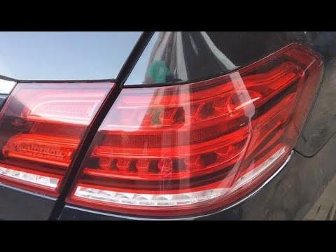 Мерседес W212 рестайлинг ремонт заднего фонаря