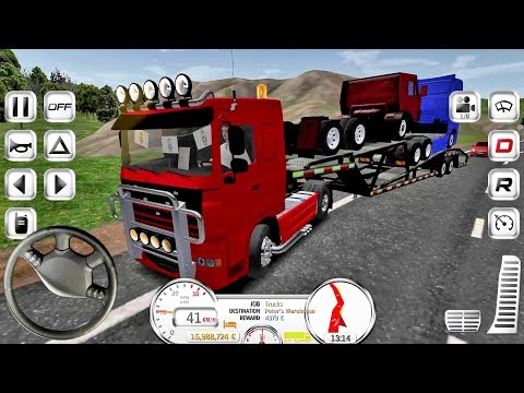 Euro Truck Evolution (Simulator) #3 - Truck Game Android IOS gameplay