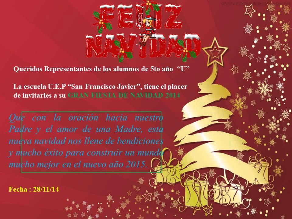 Tarjeta De Invitación Navidad Cg Youtube