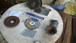 Чем очистить ржавчину и краску с металла, тестируем 4 насадки и неожиданный вывод
