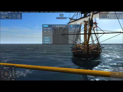 Naval Action Open World - Episode 5 - Attempting to capture a Navy Brig and Running for Tortuga