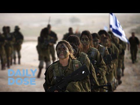 The Rise In Israeli Women Entering IDF Combat Units