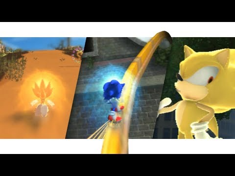 Sonic Unleashed PC! - Xenia [Day Stage & HubWorlds + SUPERSONIC]