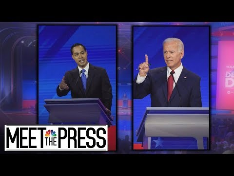 Castro's Tense Exchange With Biden Puts The Age Question Front And Center | Meet The Press